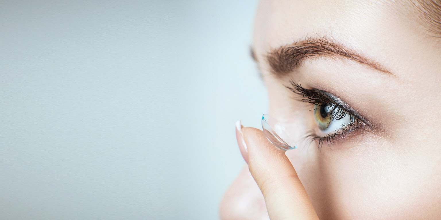 Flexibilität durch Kontaktlinsen
